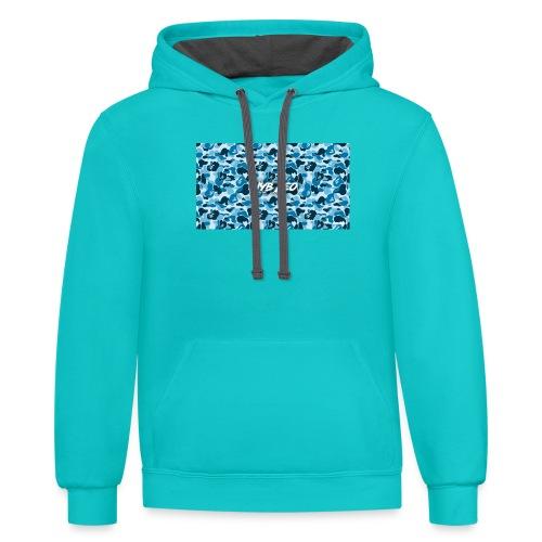 Iyb leo bape logo - Contrast Hoodie