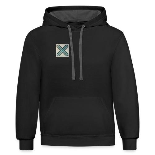 Blue XaRo - Unisex Contrast Hoodie
