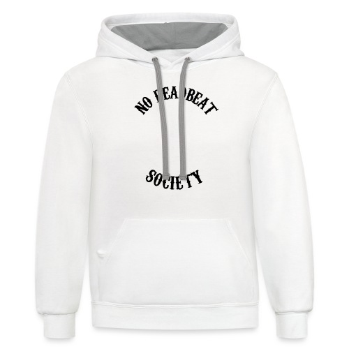 Queen To A King T-shirt - Unisex Contrast Hoodie