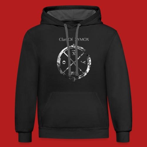 Logo shirt COX for PRINT - Unisex Contrast Hoodie