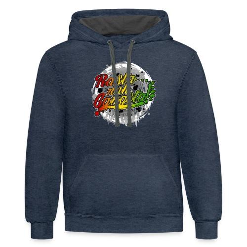 Rasta nuh Gangsta - Contrast Hoodie