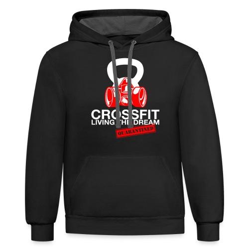 CROSSFIT LTQD - WHITE - Unisex Contrast Hoodie
