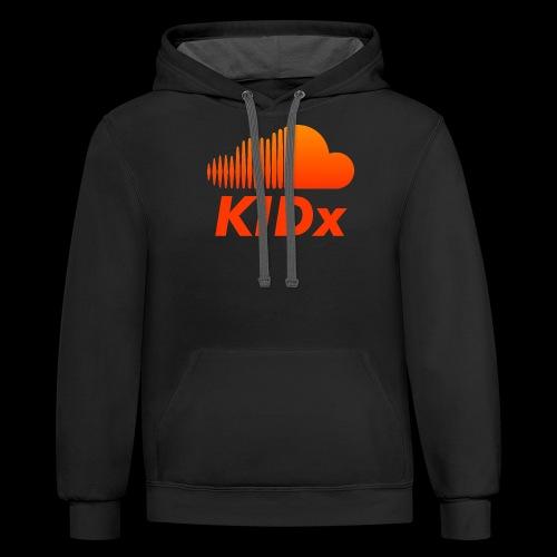 SOUNDCLOUD RAPPER KIDx - Contrast Hoodie