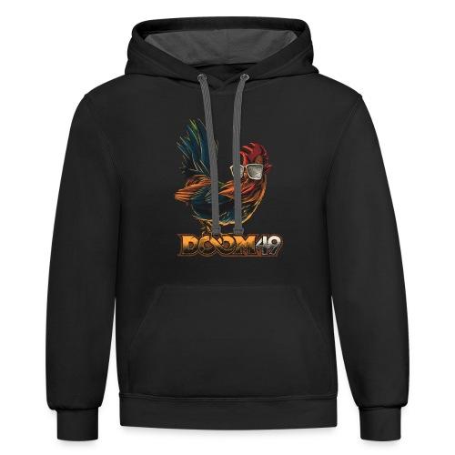 DooM49 Chicken - Contrast Hoodie