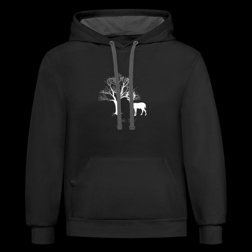 Forest Design - Contrast Hoodie