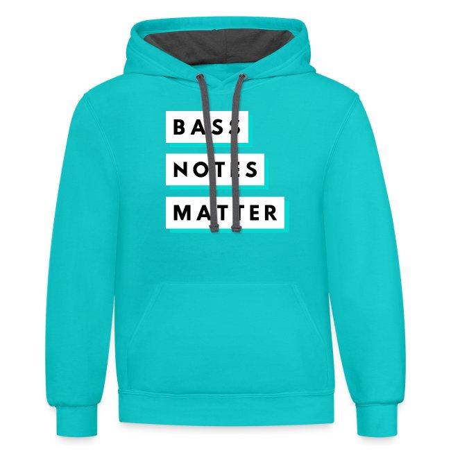Bass Notes Matter Teal