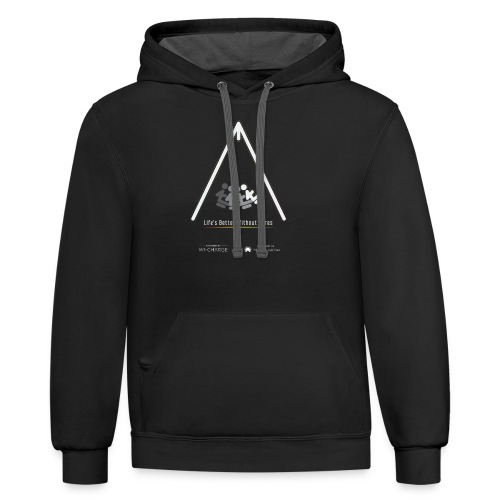 Life's better without wires: Swing - SELF - Unisex Contrast Hoodie