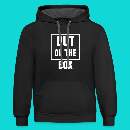 Out of the Box - Contrast Hoodie