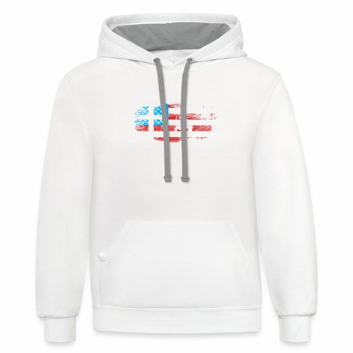 ALL GAVE SOME SOME GAVE ALL - Contrast Hoodie