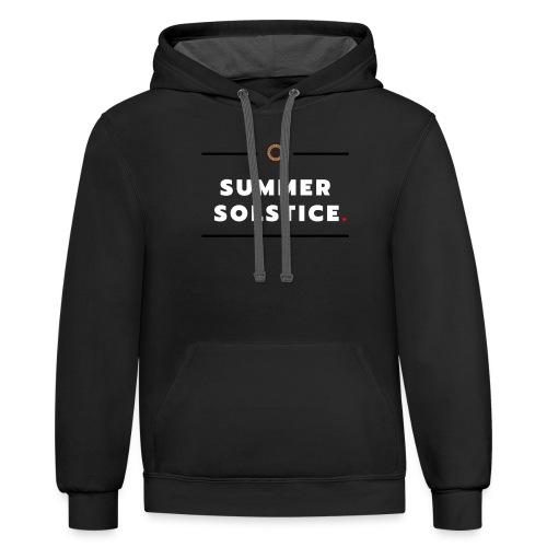 Summer - Unisex Contrast Hoodie