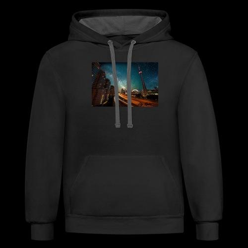 City Nights - Contrast Hoodie
