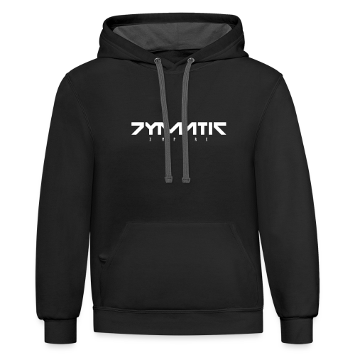 Cymatic Empire Logo - Contrast Hoodie