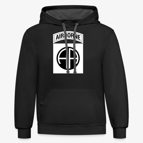82nd Airborne Division OCP - Contrast Hoodie
