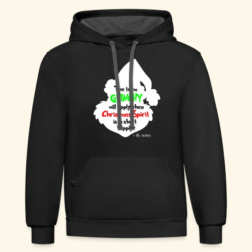 The Term Grinchy - Contrast Hoodie