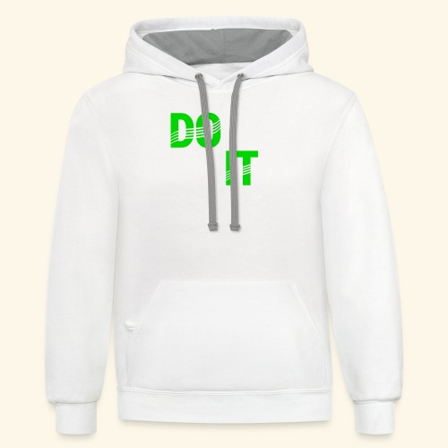 DON'T QUIT #4 - Contrast Hoodie