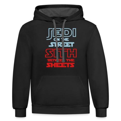 Jedi Sith Awesome Shirt - Contrast Hoodie