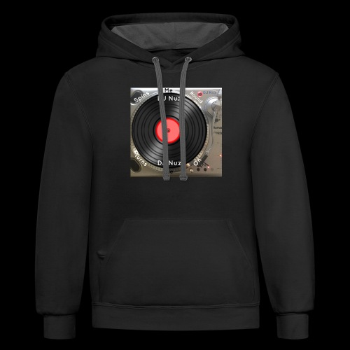 Spin me Round - Contrast Hoodie