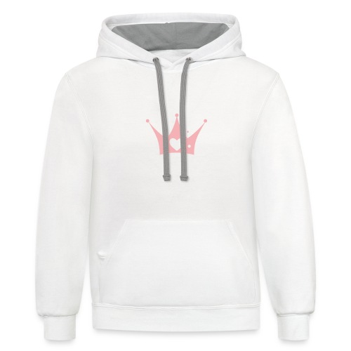 Princess Are Born In January - Contrast Hoodie