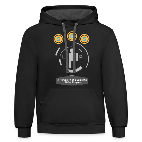 SASy Supporters - Unisex Contrast Hoodie