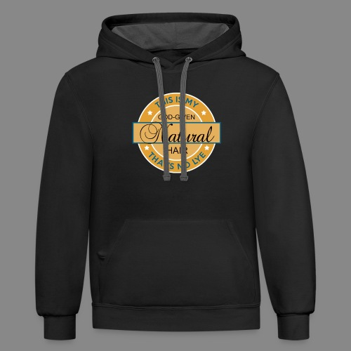 God Given Natural Hair - Contrast Hoodie