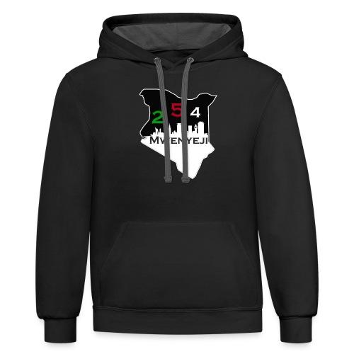 Mwenyeji Wa Kenya - Contrast Hoodie