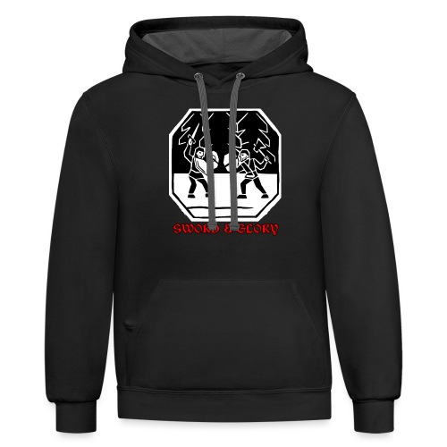 To the Death - Contrast Hoodie