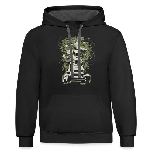 Lawn Mower Demons - Contrast Hoodie