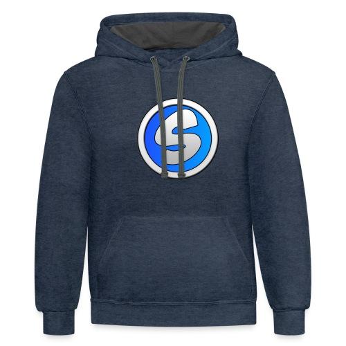 Sylaa logo - Contrast Hoodie