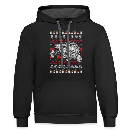 UTV Racing Christmas - Contrast Hoodie