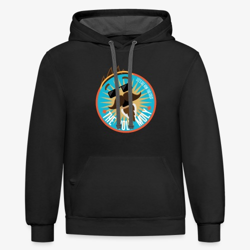 The Holy Moly - Unisex Contrast Hoodie