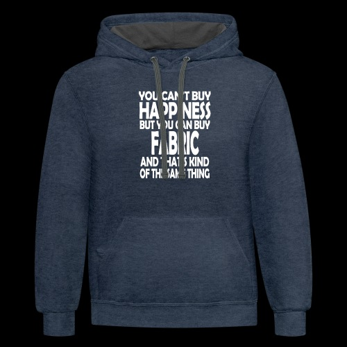 Fabric is Happiness - Contrast Hoodie