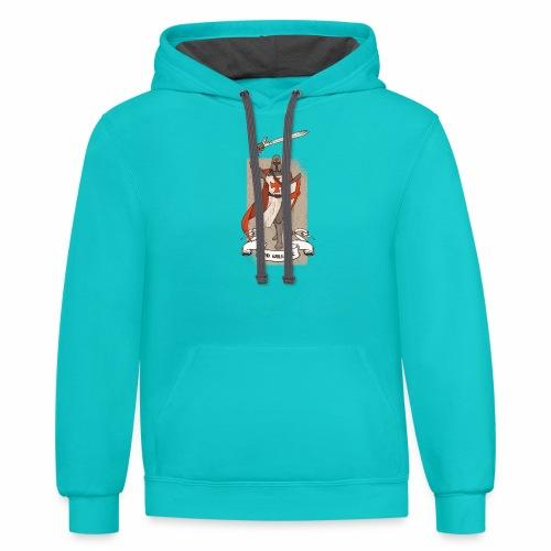GodWillsItTshirt 01 - Contrast Hoodie