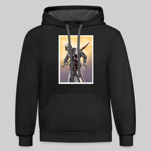 Zombie Crusader - Contrast Hoodie