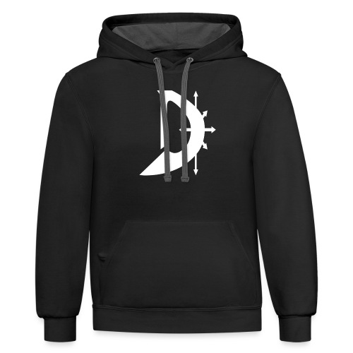 Mark of Dave T-Shirt - Contrast Hoodie