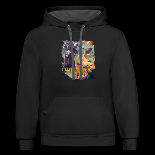 The Witcher 3 - Griffin - Contrast Hoodie