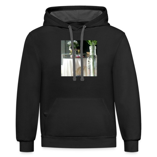 Spread the Love! - Contrast Hoodie