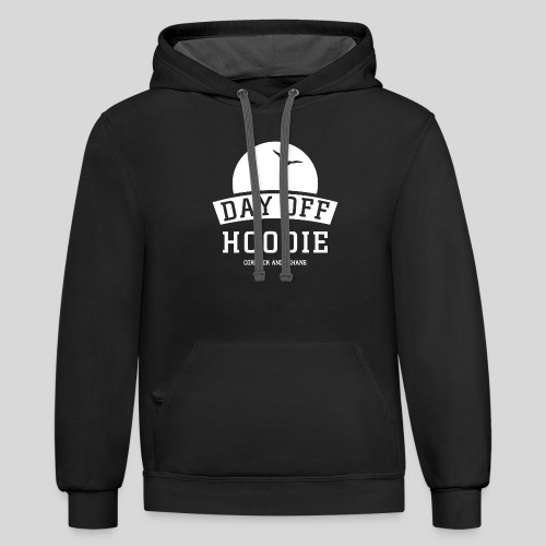 Your DAY OFF Hoodie - Contrast Hoodie