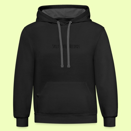 Spilt Coffee Merch - Contrast Hoodie