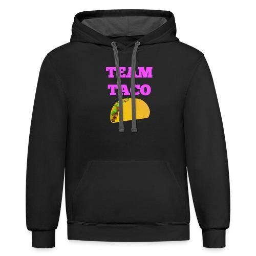 TEAMTACO - Contrast Hoodie