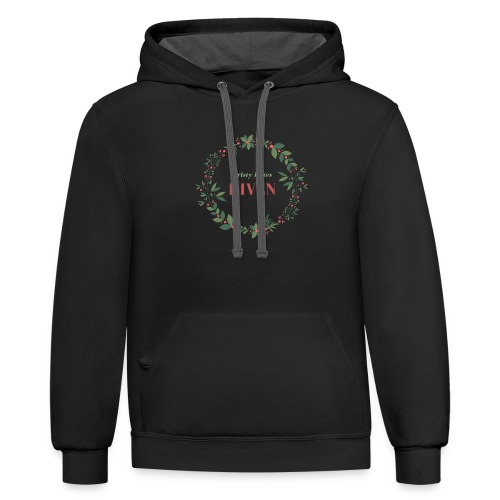Kristy hates Riven - Contrast Hoodie