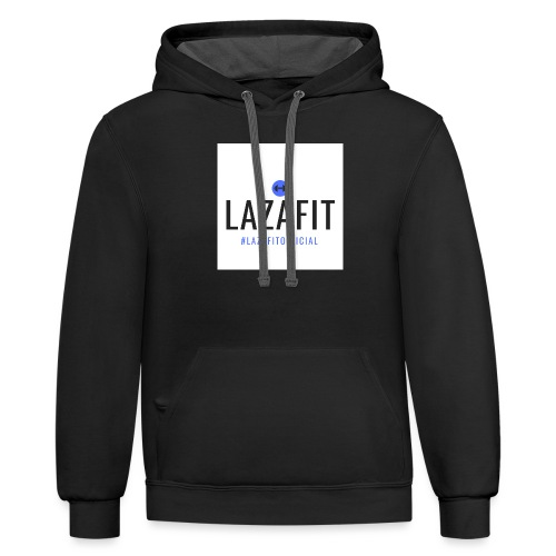 Lazafitofficial - Unisex Contrast Hoodie