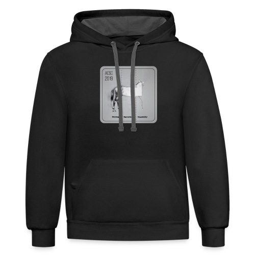 Horse Drawn Capability - Contrast Hoodie