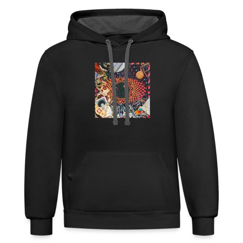 Escape From New York - Unisex Contrast Hoodie