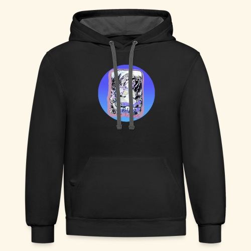 Bliss Bliss - Unisex Contrast Hoodie