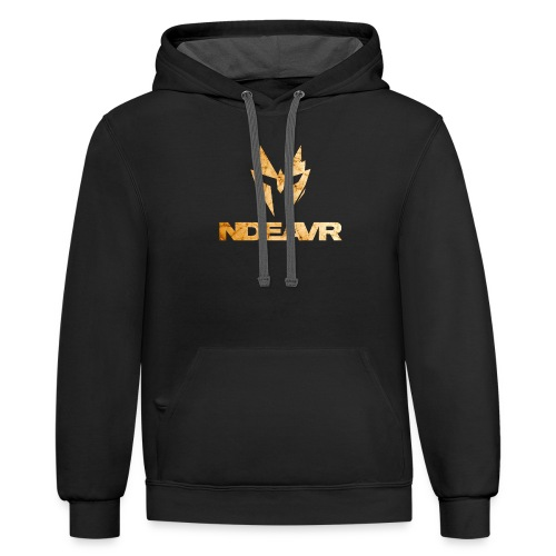 Ndeavr Gold - Unisex Contrast Hoodie