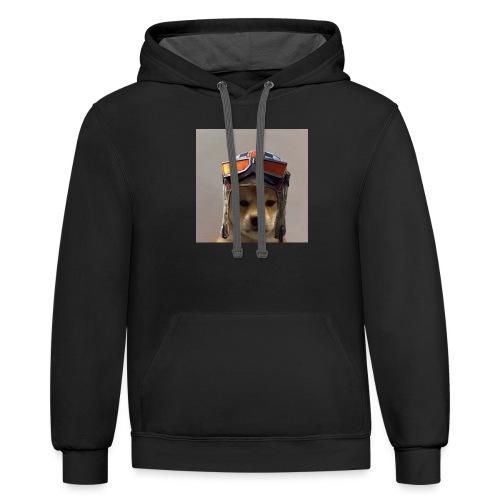 Renegade Doggo - Unisex Contrast Hoodie