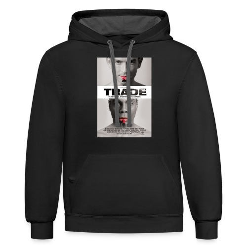 TRADE the movie poster - Contrast Hoodie