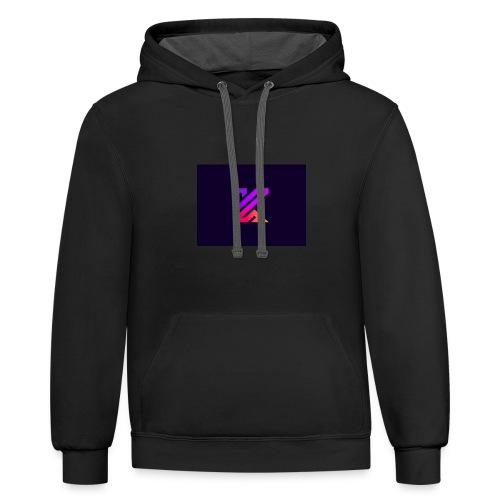 KOXN Classic - Unisex Contrast Hoodie