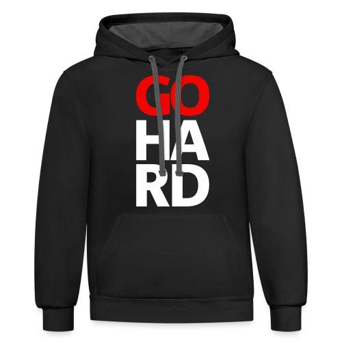 gohard - Contrast Hoodie