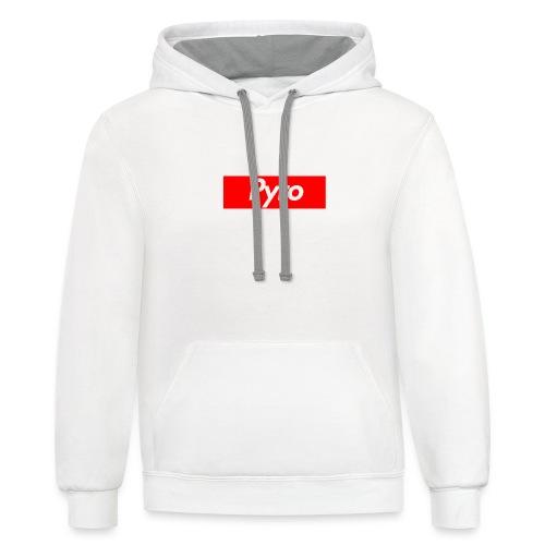 pyrologoformerch - Unisex Contrast Hoodie
